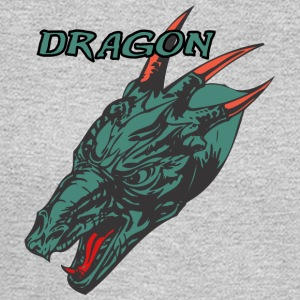 Wild_dragon_with_three_horns_color - Men's Long Sleeve T-Shirt