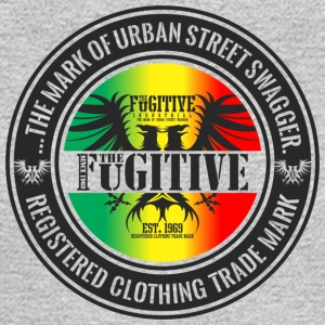 FUGITIVE 2423 RASTA GRADIENT - Men's Long Sleeve T-Shirt