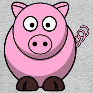 Funny Pig - Men's Long Sleeve T-Shirt