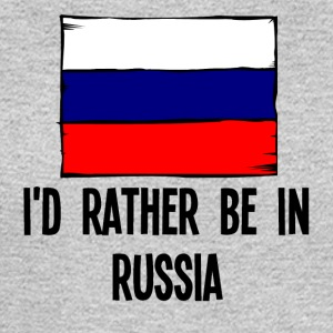 I'd Rather Be In Russia - Men's Long Sleeve T-Shirt