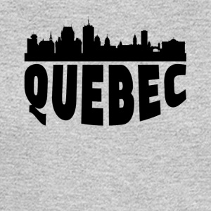 Quebec Canada Cityscape Skyline - Men's Long Sleeve T-Shirt