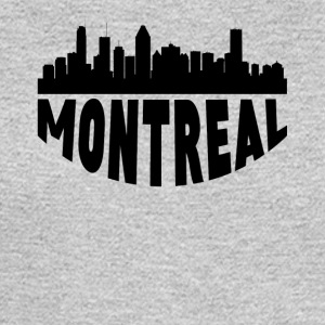 Montreal Canada Cityscape Skyline - Men's Long Sleeve T-Shirt