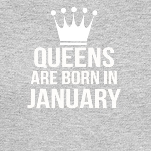 queens are born in january - Men's Long Sleeve T-Shirt