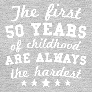 50 Years Of Childhood 50th Birthday - Men's Long Sleeve T-Shirt