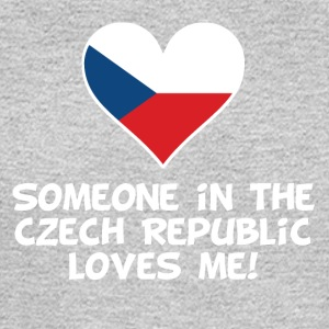 Someone In the Czech Republic Loves Me - Men's Long Sleeve T-Shirt