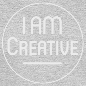 I AM Creative Affirmation T-Shirt - Men's Long Sleeve T-Shirt
