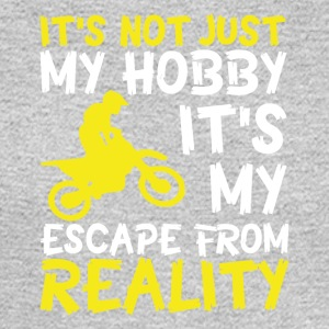 Motorbike escape from reality - Men's Long Sleeve T-Shirt
