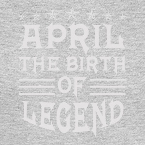 April The Birth of Legend - Men's Long Sleeve T-Shirt