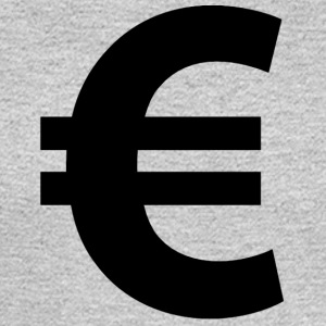Euro Sign - Men's Long Sleeve T-Shirt