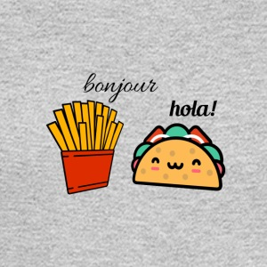 Taco and fries - Men's Long Sleeve T-Shirt