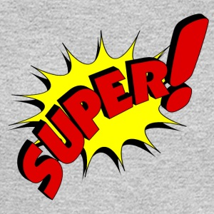 super in comic style - Men's Long Sleeve T-Shirt