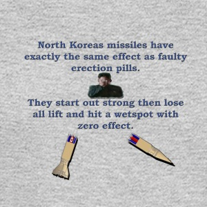 North Koreas Dongless Missile - Men's Long Sleeve T-Shirt
