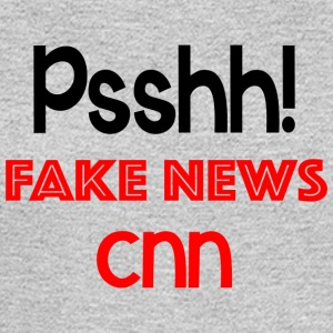 Fake News CNN t shirt - Men's Long Sleeve T-Shirt