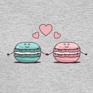 Macarons Couple - Men's Long Sleeve T-Shirt