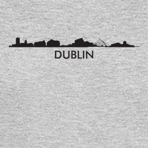 Dublin Ireland Skyline - Men's Long Sleeve T-Shirt