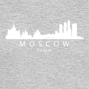Moscow Russia Skyline - Men's Long Sleeve T-Shirt