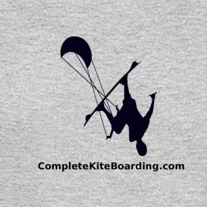 COMPLETE_KITE_BOARDING_kiter_b_and_w_gif - Men's Long Sleeve T-Shirt