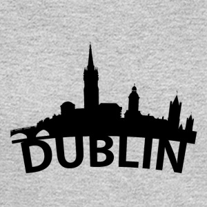 Arc Skyline Of Dublin Ireland - Men's Long Sleeve T-Shirt