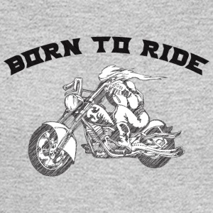 BURN_TO_RIDE_BIKER_2 - Men's Long Sleeve T-Shirt