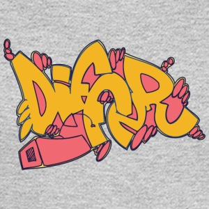 differ_graffitit_yellow - Men's Long Sleeve T-Shirt
