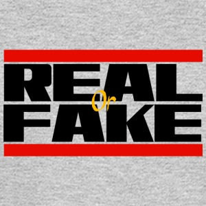 REAL or Fake - Men's Long Sleeve T-Shirt