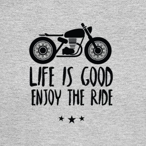Life is good enjoy the ride - Men's Long Sleeve T-Shirt