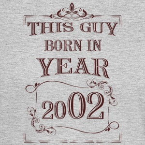 this guy born in year 2002 - Men's Long Sleeve T-Shirt
