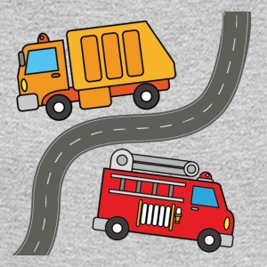 Two Trucks - Men's Long Sleeve T-Shirt