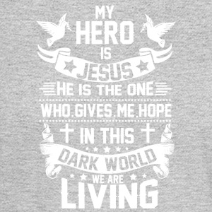 ***JESUS IS MY HERO*** - Men's Long Sleeve T-Shirt