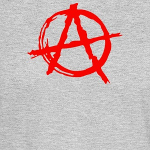 Anarchy Symbol - Men's Long Sleeve T-Shirt
