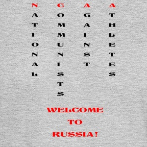 National communists against athletes - Men's Long Sleeve T-Shirt