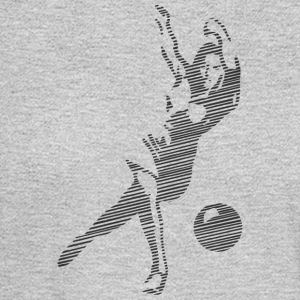 Woman playing bowling - Men's Long Sleeve T-Shirt
