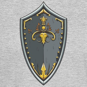 shield_with_ornament - Men's Long Sleeve T-Shirt