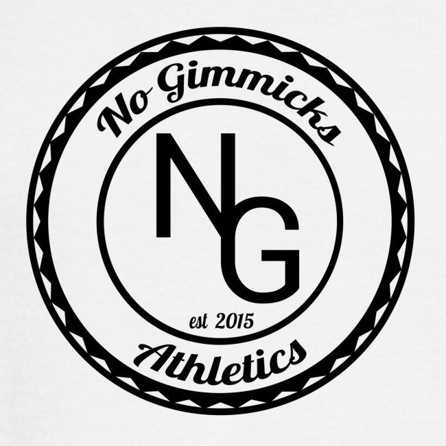 no gimmicks logo svart