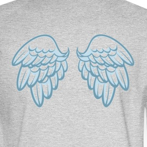 Cupid Wings - Men's Long Sleeve T-Shirt
