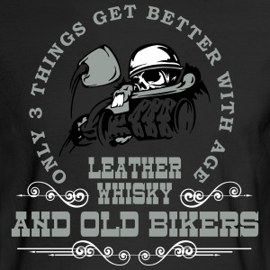 Old Bikers Get Better With Age - Men's Long Sleeve T-Shirt