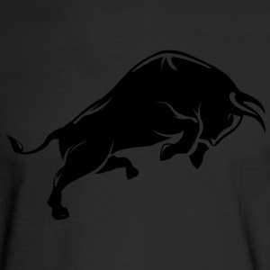 Bull Angry Bull - Men's Long Sleeve T-Shirt