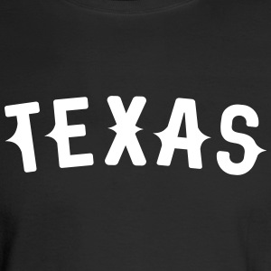 Texas Western styled letters - Men's Long Sleeve T-Shirt