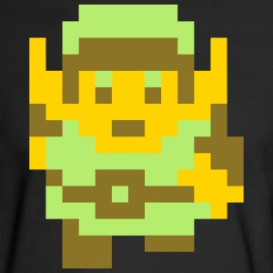 Pixel Link - Men's Long Sleeve T-Shirt