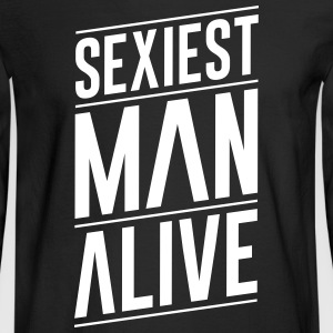 Goodies Sexiest Man Alive Design - Men's Long Sleeve T-Shirt
