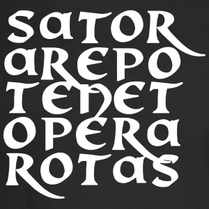 Sator Arepo Tenet Opera Rotas - Men's Long Sleeve T-Shirt