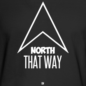 North: That Way - Men's Long Sleeve T-Shirt