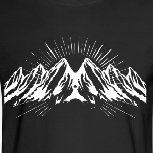 Big white snow mountain - Men's Long Sleeve T-Shirt