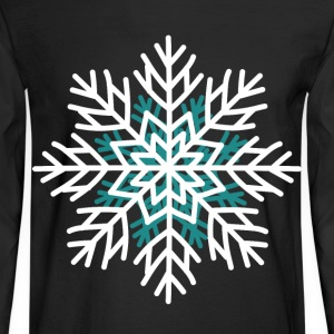 Snowflake t shirt men Christmas winter day - Men's Long Sleeve T-Shirt