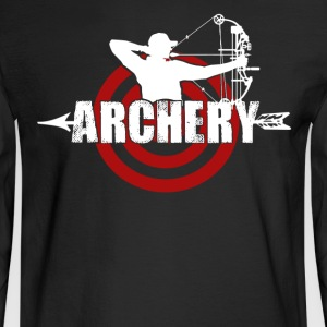 Archery T shirts - Men's Long Sleeve T-Shirt