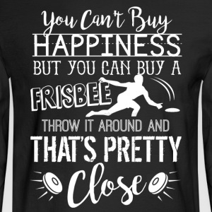 Ultimate Frisbee Happiness Shirt - Men's Long Sleeve T-Shirt