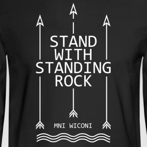 Stand with standing rock - Men's Long Sleeve T-Shirt