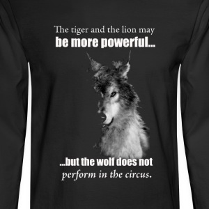 The Wolf - Men's Long Sleeve T-Shirt