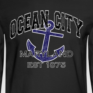 Ocean City Maryland Est 1875 - Men's Long Sleeve T-Shirt