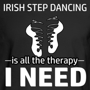 Irish Step-dancing is my therapy - Men's Long Sleeve T-Shirt